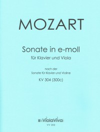 VV 202 • MOZART - Sonata - Piano score, part (1)