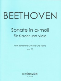 VV 207 • BEETHOVEN - Sonate nach op. 23 in a-moll