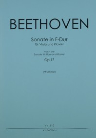 VV 210 • BEETHOVEN - Sonate nach Hornsonate in F-dur